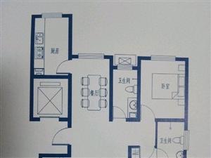 水墨林居3室2厅2卫88万元