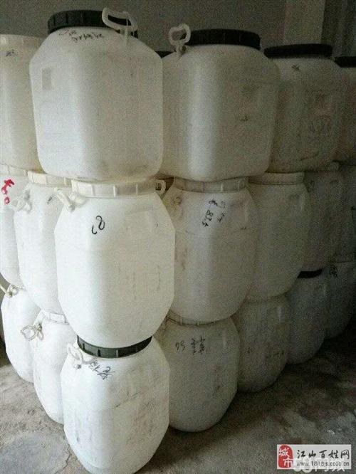 二手蜂蜜塑料桶出售