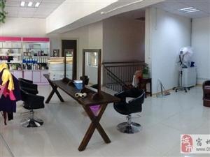 创意实木美发镜梳妆复古做旧镜发廊理发店