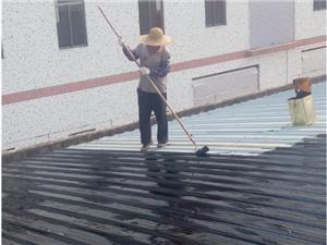 承接鶴山樓房彩瓦面防銹各類樓房維修漏水工程