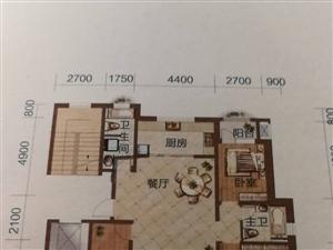 香山丽墅电梯六楼面积110平+储藏室包改名可按揭89万