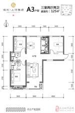 A3户型3室2厅2卫