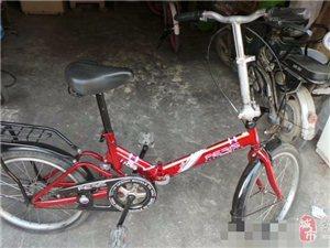 闲置二手可折叠嘉木自行车一辆,转让!