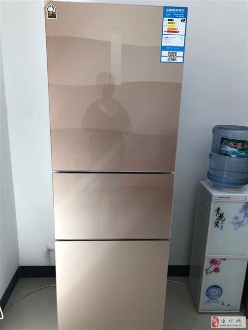 轉讓全新美的三門變頻風冷冰箱