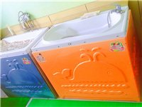 出售95成新婴幼儿游泳桶洗澡台