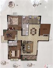 碧湖云天水景房毛坯改名办一手合同3室2厅电梯中层