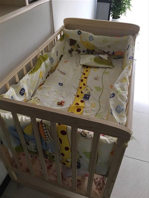 儿童实木床便宜处理,适合1-6岁的宝宝