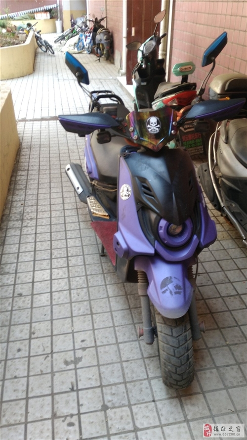 自用踏板摩托一輛