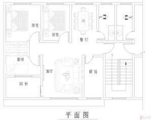 城口县明通镇大塘口小学正对面3室2厅1卫9.98万元