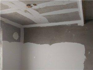 承接室内外乳胶漆、仿瓷粉刷、装修(隔断吊顶)