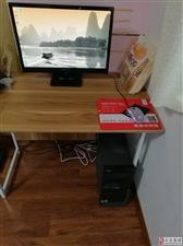 电脑主机游戏主机四核整机带显示器