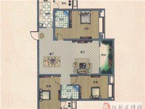 3室2厅2卫134.44平米