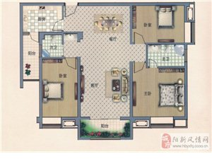 3室2厅2卫130.72平米