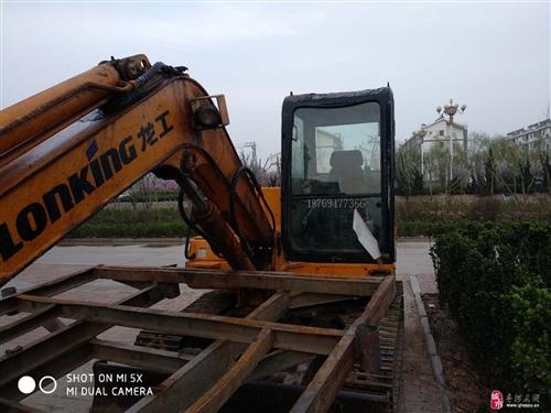 个人出售龙工65挖掘机一台