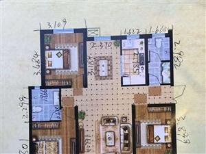通达小区3室2厅2卫103万元