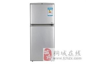 小天鹅双门112冰箱便宜卖因工作便宜出售了