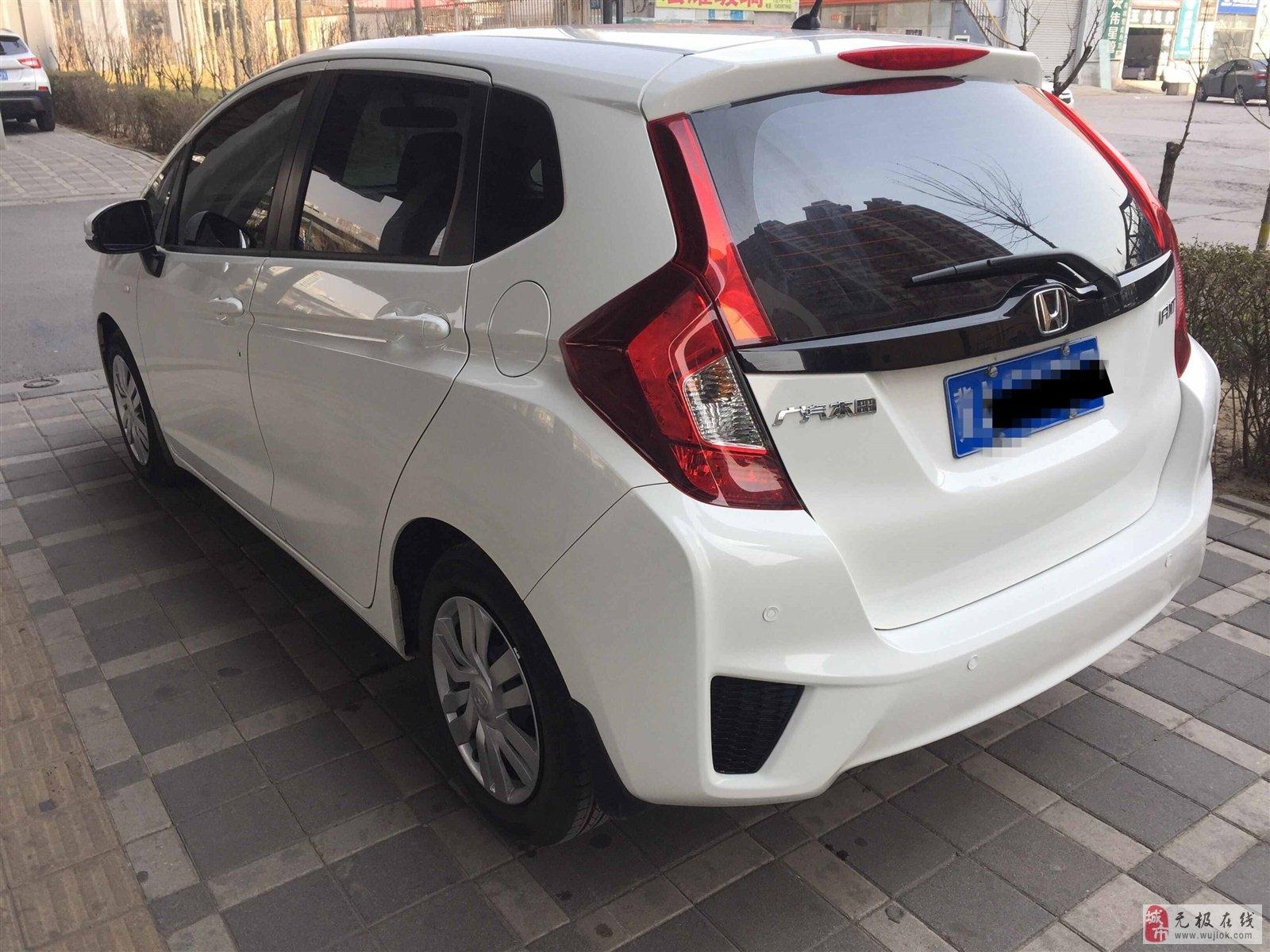 本田飞度2016款1.5LLX手动舒适型