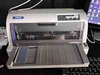 爱普生针式打印机可打印快递单,发票,300不二价