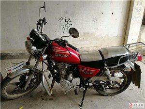 转让豪爵太子摩托车