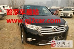 郑州二手丰田汉兰达转让价格16.80万