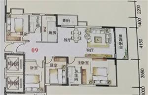 家和滨江御景4室2厅2卫77.60万元