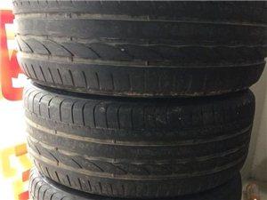 轮胎加轮毂一套出售