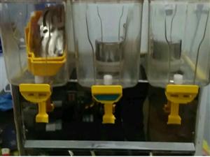 冰之乐三缸喷淋冷热果汁机