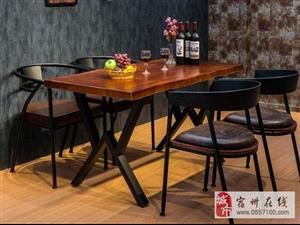 全新定做,酒吧咖啡厅 餐厅实木桌椅