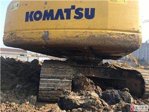 个人小松220-7挖机转让,纯土方机