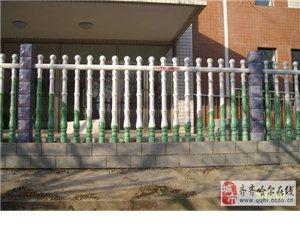 水泥藝術圍欄羅馬柱