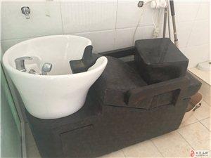 出售会议桌和椅子,4米布艺沙发,美容床和洗头床
