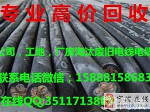 宁波市高价回收废旧电缆回收镇海电缆回收江北电缆回收