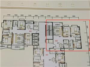 家和滨江御景3房可改4房售70.19万