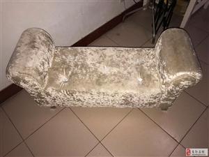 服装店鞋店专用金丝绒高档沙发