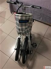折叠自行车只试过一次骑着有点小