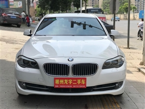 出售白色宝马525Li新款2.0T领先版