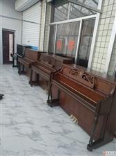 在临朐、青州买好钢琴二手钢琴就到青州市海明威乐器行