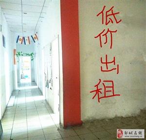 东方购物中心四楼辅导班教室低价出租