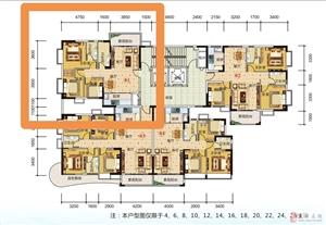 西岸悦湾99平米三房3房售54.1万元