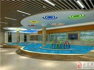 游泳、汗蒸、健身,就來保定康圣健身俱樂部