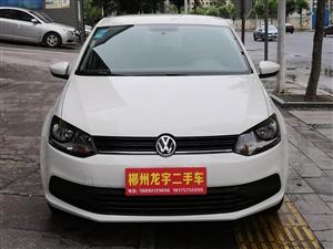 出售准新车白色大众POLO1.4自动