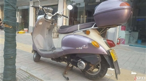 出售铃木踏板125摩托车一辆