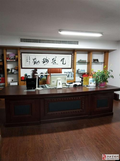 出售真皮沙发及办公桌