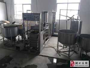 低价转让豆制品设备一整套