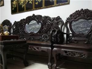 实木红木老家具沙发