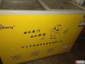8成新卧式冰箱一台出售50*110