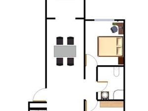 剑桥港湾一楼急售90平两室急售