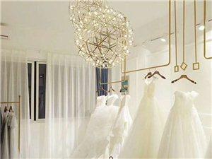簡約金色服裝吊架U型婚紗展示架上墻正側吊頂懸掛落地