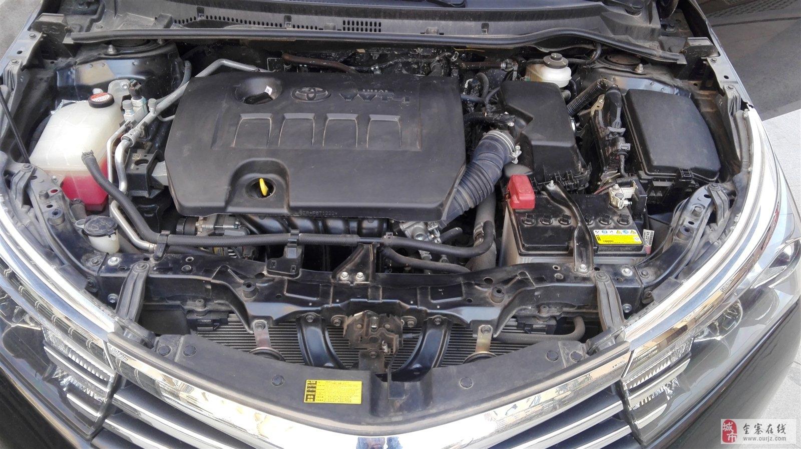 丰田卡罗拉私家车,全程4S保养无事故