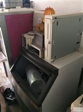 封口机1台,全套冰淇淋制作机器,制冰机,爆米花机等